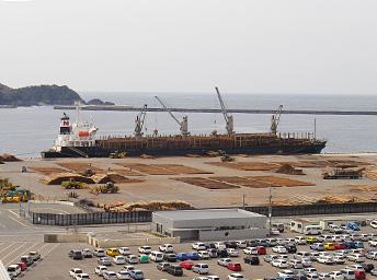福井地区 原木船
