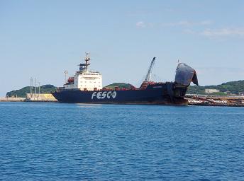 福井地区 国際RORO船