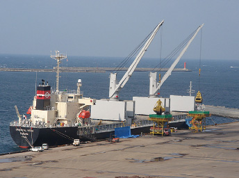 福井地区石炭運搬船