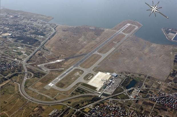 美保飛行場航空写真